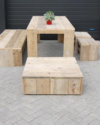 Steigerhouten meubels direct kopen of op maat bestellen - Ontwerp terrasmeubelen ...